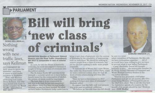 A new class of criminals